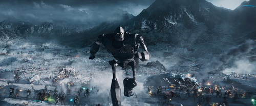 A scene from Warner Bros. Pictures', Amblin Entertainment's and Village Roadshow Pictures' action adventure READY PLAYER ONE, a Warner Bros. Pictures release. Photo Credit: Courtesy of Warner Bros. Pictures. © 2018 WARNER BROS. ENTERTAINMENT INC., VILLAGE ROADSHOW FILMS (BVI) LIMITED AND RATPAC-DUNE ENTERTAINMENT.