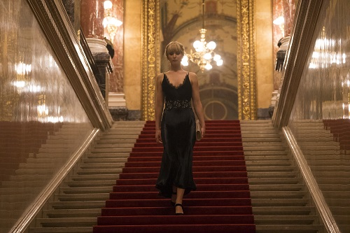 Jennifer Lawrence stars in Twentieth Century Fox's RED SPARROW. Photo Credit: Murray Close; TM & © 2018 Twentieth Century Fox Film Corporation. All Rights Reserved.