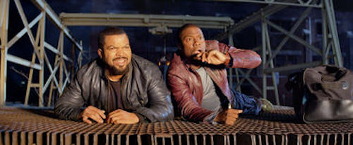 Ice Cube and Kevin Hart in Ride Along. 2013 Universal Pictures.