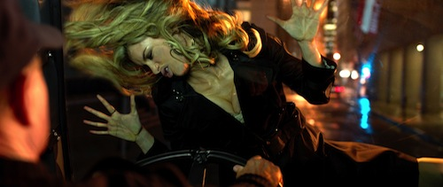 Hoy's Avatar (MARISA MILLER) is very durable in the 3D supernatural action-adventure R.I.P.D. In the film, Jeff Bridges and Ryan Reynolds play Roy and Nick, two cops dispatched by the otherworldly Rest In Peace Department to protect and serve the living from an increasingly destructive array of creatures who refuse to move peacefully into the afterlife. Photo Credit: Scott Garfield. Copyright: 2013 Universal Studios. ALL RIGHTS RESERVED.