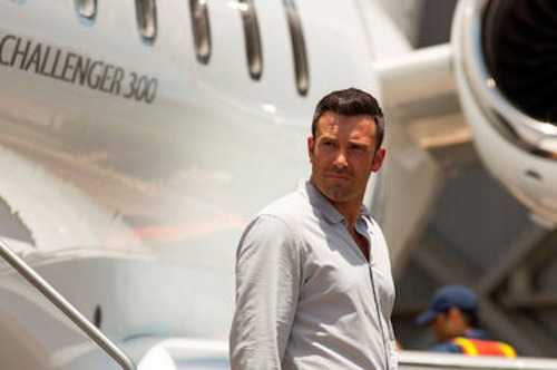 Ben Affleck as Ivan Block  in Runner, Runner. 2013 Scott Garfield / Twentieth Century Fox.