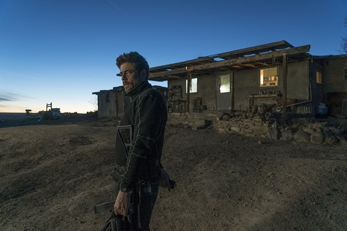 Benicio Del Toro in SICARIO: Day of the Soldado, Photo Credit: Richard Foreman, Jr. SMPSP.