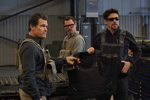 (l to r) Josh Brolin, Jeffrey Donovan and Benicio Del Toro in SICARIO: Day of the Soldado, Photo Credit: Richard Foreman, Jr. SMPSP.