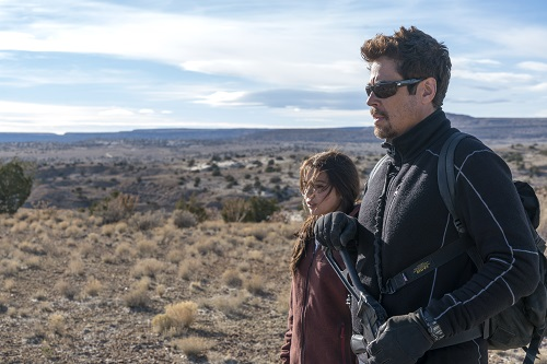 Benicio Del Toro and Isabela Moner in SICARIO: Day of the Soldado, Photo Credit: Richard Foreman, Jr. SMPSP.