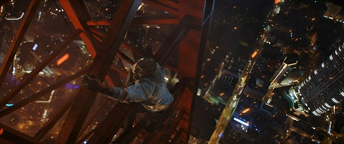 Skyscraper, image courtesy Legendary Entertainment/Universal Pictures. All rights reserved.