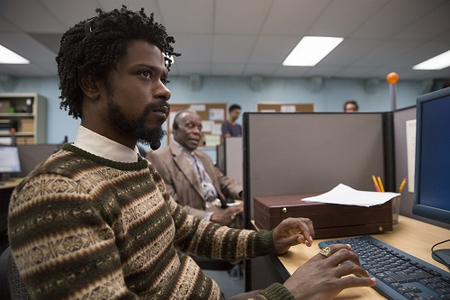(l to r.) Lakeith Stanfield as Cassius Green and Danny Glover as Langston star in Boots Riley's SORRY TO BOTHER YOU, an Annapurna Pictures release. Credit: Peter Prato / Annapurna Pictures.