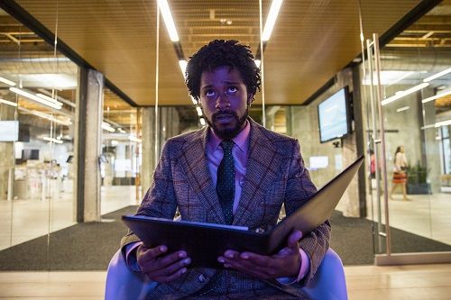 Lakeith Stanfield stars as Cassius Green in Boots Riley's SORRY TO BOTHER YOU, an Annapurna Pictures release. Credit: Peter Prato / Annapurna Pictures.