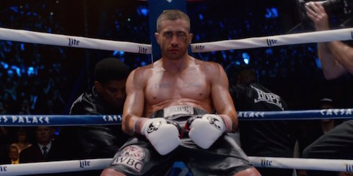 Jake Gyllenhaal in Southpaw. All rights reserved. All rights reserved.