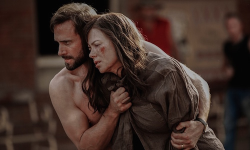 Nicole Kidman and Joseph Fiennes in Strangerland. 2015. All rights reserved.