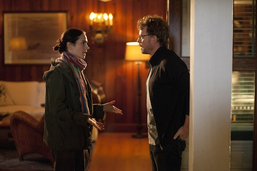 Jennifer Connelly as Erica and Greg Kinnear as Bill Borgens in STUCK IN LOVE. Photo courtesy of Millennium Entertainment.