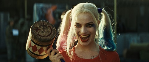 MARGOT ROBBIE as Harley Quinn in Warner Bros. Pictures' action adventure SUICIDE SQUAD, a Warner Bros. Pictures release.