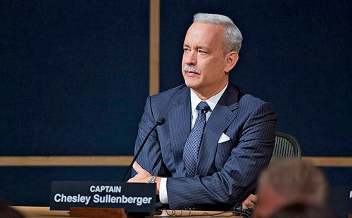 Tom Hanks in Sully. Photo courtesy Warner Bros.