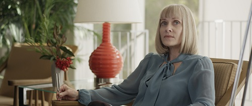 Barbara Crampton as Irma in the thriller film SUN CHOKE, an XLrator Media release. Photo courtesy of XLrator Media.
