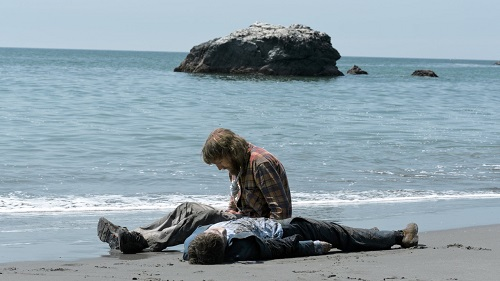 Paul Dano and Daniel Radcliffe in Swiss Army Man, photo courtesy of A24.