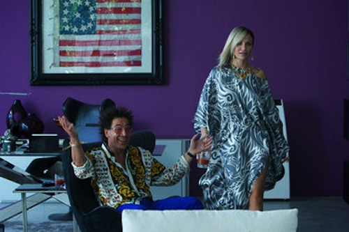 Javier Bardem as Reiner and Cameron Diaz as Malkina in The Counselor. 2013 Kerry Brown / Twentieth Century Fox.