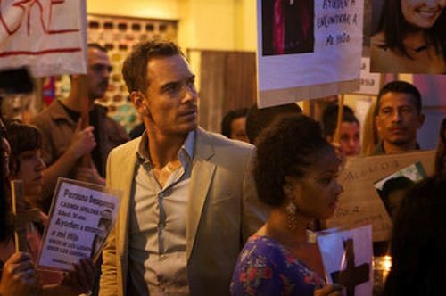 Michael Fassbender in The Counselor. 2013 Kerry Brown / Twentieth Century Fox.