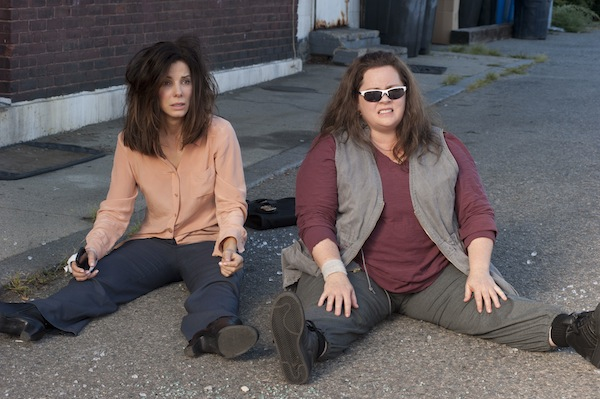 Sandra Bullock and Melissa McCarthy in The Heat. TM & © 2013 Twentieth Century Fox Film Corporation. All Rights Reserved.