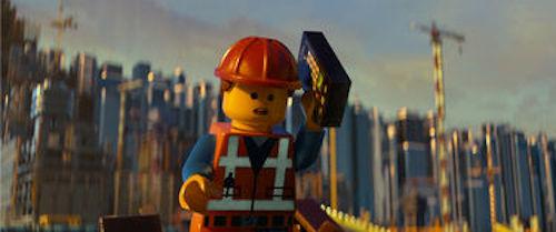Emmet voiced by Chris Pratt The LEGO Movie. 2014 Warner Bros.