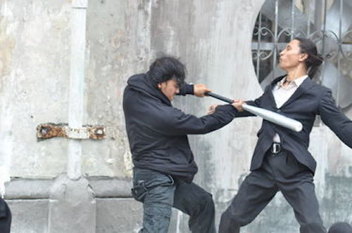 I scene from The Raid 2. 2014 Sony Pictures Classics.