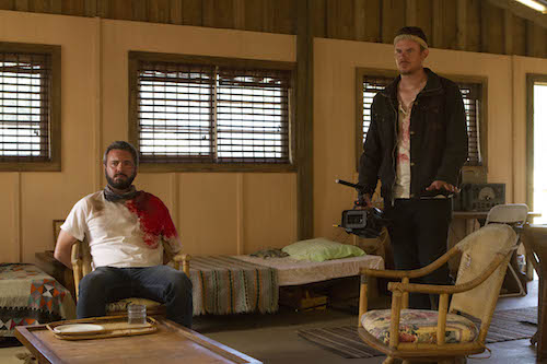 AJ Bowen and Joe Swanberg in THE SACRAMENT, a Magnet Release. Photo courtesy of Magnet Releasing.