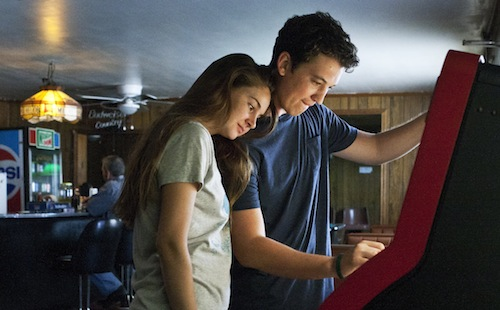 The Spectacular Now - Shailene Woodley, Miles Teller - by Wilford Harewood