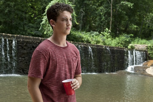 Miles Teller in The Spectacular Now.