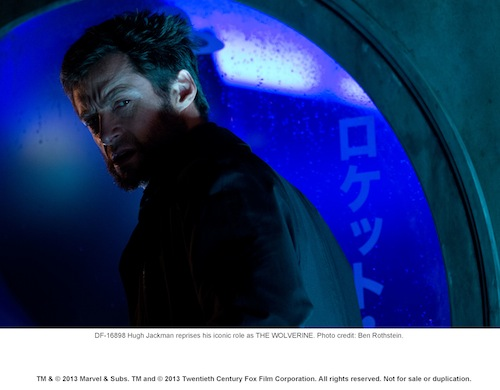 Hugh Jackman reprises his iconic role as THE WOLVERINE. Photo credit: Ben Rothstein.