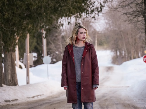 Emma Roberts in The Blackcoat's Daughter. Photo by Petr Maur, courtesy of A24.