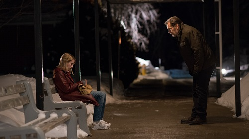 Emma Roberts and James Remar in The Blackcoat's Daughter. Photo by Petr Maur, courtesy of A24.