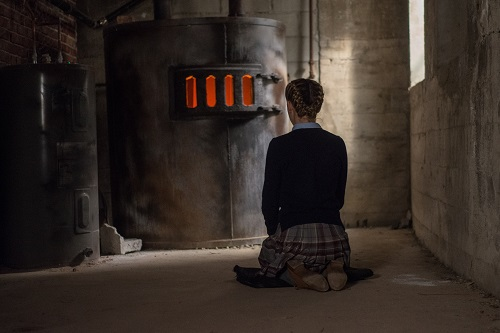 Kiernan Shipka in The Blackcoat's Daughter. Photo by Petr Maur, courtesy of A24.