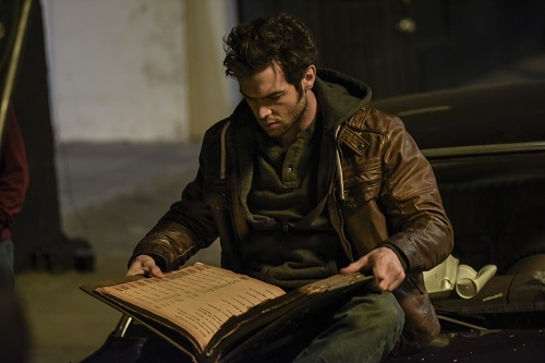 Ethan Peck as Thomas in the thriller film