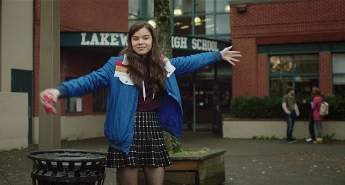 Hailee Steinfeld in The Edge of Seventeen, photo courtesy STX Entertainment 2016 All rights reserved.