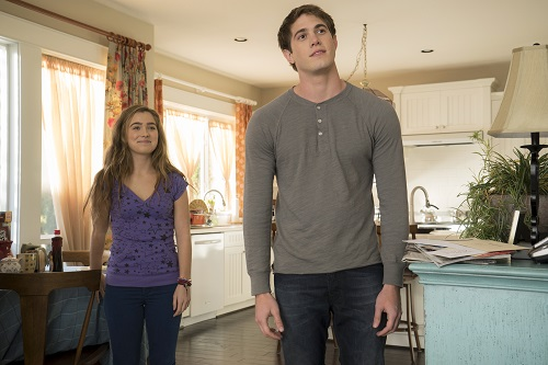 (Left to Right) Haley Lu Richardson and Blake Jenner in The Edge of Seventeen, photo courtesy STX Entertainment 2016 All rights reserved.