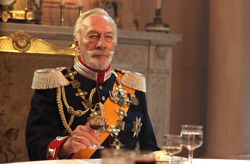 Christopher Plummer in A24's THE EXCEPTION, photo by Marc Bossaerts courtesy A24 2017, All Rights Reserved.