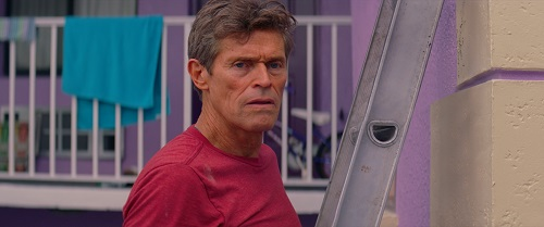 Willem Dafoe in The Florida Project. Photo courtesy of A24.