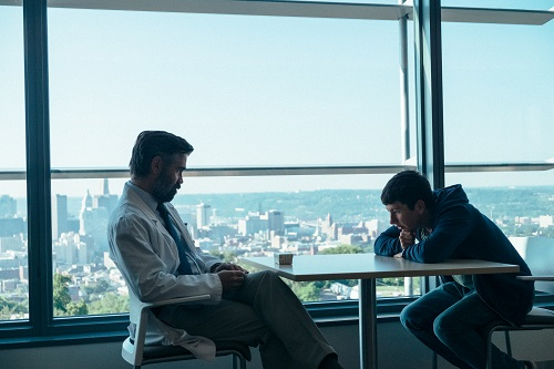 Colin Farrell and Barry Keoghan in The Killing of a Sacred Deer, photo by Jima (Atsushi Nishjima), courtesy of A24.
