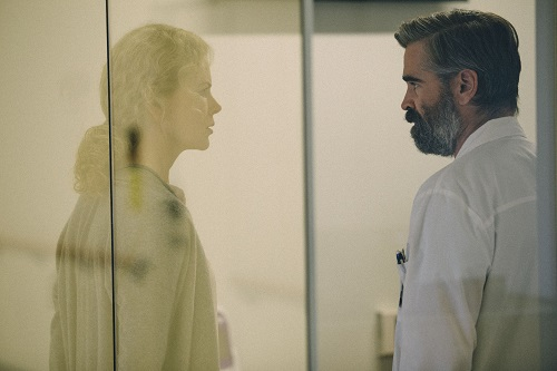 Colin Farrell and Nicole Kidman in The Killing of a Sacred Deer, photo by Jima (Atsushi Nishjima), courtesy of A24.