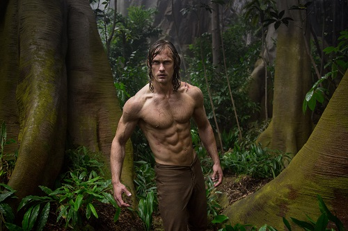 ALEXANDER SKARSGÅRD as Tarzan in Warner Bros. Pictures' and Village Roadshow Pictures' action adventure