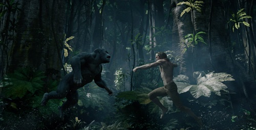 (Right) ALEXANDER SKARSGÅRD as Tarzan in Warner Bros. Pictures' and Village Roadshow Pictures' action adventure