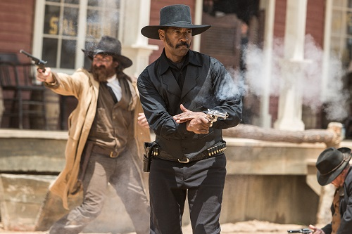 Denzel Washington stars in Metro-Goldwyn-Mayer Pictures and Columbia Pictures' THE MAGNIFICENT SEVEN. Photo courtesy Sony Pictures Entertainment INC., All Rights Reserved.
