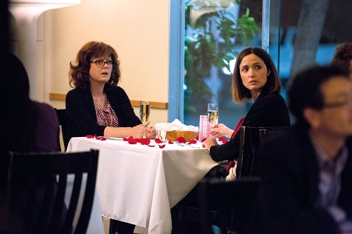 Susan Sarandon and Rose Byrne in The Meddler, photo courtesy Sony Pictures Classics.