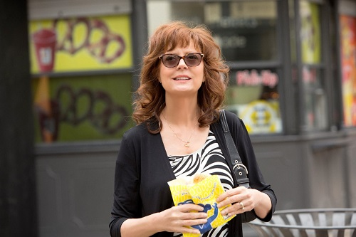 Susan Sarandon in The Meddler, photo courtesy Sony Pictures Classics.