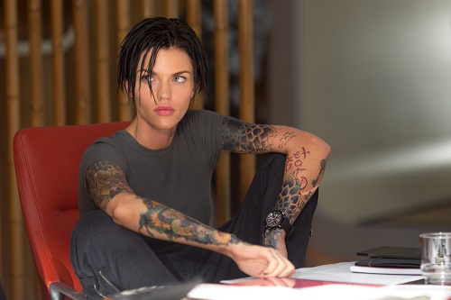 RUBY ROSE as Jaxx in Warner Bros. Pictures' and Gravity Pictures' science fiction action thriller THE MEG, a Gravity Pictures release for China, and a Warner Bros. Pictures release throughout the rest of the world. Photo Credit: Kirsty Griffin.