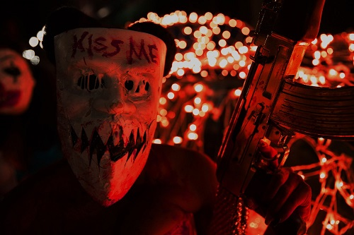 The Purge: Election Year (2016).  Photo by Michele K. Short courtesy of Universal Pictures.