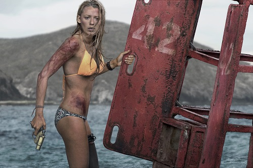 Nancy (Blake Lively) in Columbia Pictures' THE SHALLOWS. Photo credit: Vince Valitutti, courtesy Sony Pictures Entertainment.