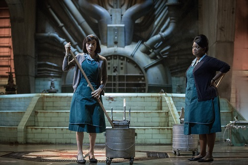 Sally Hawkins and Octavia Spencer in the film THE SHAPE OF WATER. Photo Courtesy of Fox Searchlight Pictures, © 2017 Twentieth Century Fox Film Corporation All Rights Reserved.