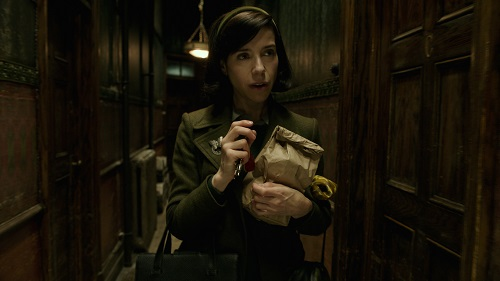 Sally Hawkins in the film THE SHAPE OF WATER. Photo by Kerry Hayes; © 2017 Twentieth Century Fox Film Corporation All Rights Reserved.