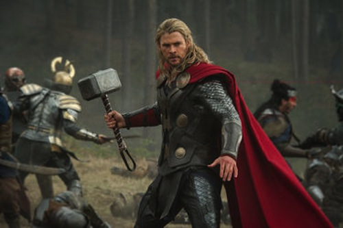 Chris Hemsworth as Thor, Thor: The Dark World