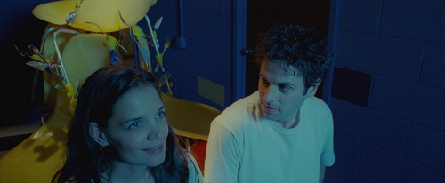 Katie Holmes and Luke Kirby in Paul Dalio's TOUCHED WITH FIRE. Photo credit: Courtesy of Roadside Attractions.