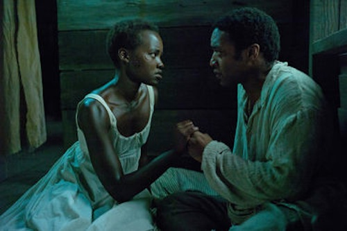 Lupita Nyong'O and Chiwetel Ejiofor in Twelve Years a Slave. 2013 Fox Searchlight.
